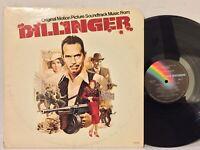 Dillinger jazz soundtrack Barry De Vorzon EX