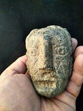 Hopewell mound builder head effigy pipe Ohio