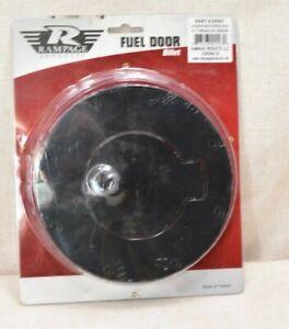 Rampage 85007 Billet Style Fuel Door Cover Fits 07-18 Wrangler [NEW Sealed]
