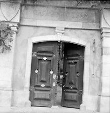 PORTUGAL c.1950 -Porte d'Entrée Casa da Calçada Amarante-Négatif 6 x 6 - Por 218