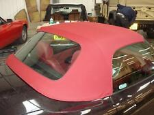 Fiat Barchetta Burgundy Mohair Hood with Plastic Window
