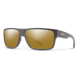 Smith Soundtrack Matte Gravy Sunglasses w/ CP Polarized Bronze Mirror Lens