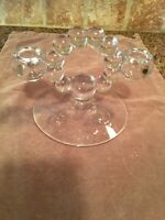 Vintage Candlewick by Imperial double candle holder