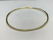 Ippolita 18K Yellow Gold Classico Squiggle Bangle Bracelet