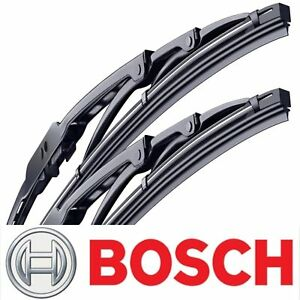 2 Genuine Bosch Direct Connect Wiper Blades 1974-1979 Fiat 128 Left Right Set
