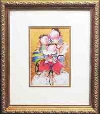 """Graciela Rodo Boulanger """"Autour Du Monde"""" LITHOGRAPH Custom FRAMED art NEW litho"""