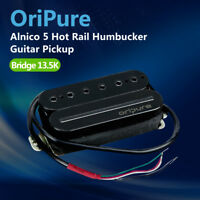 OriPure Alnico 5 Humbucker Dual Rail Double Coil Electric Guitar Bridge Pickup
