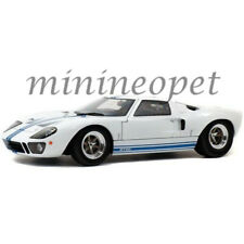 SOLIDO S1803002 1968 FORD GT 40 MKI WIDEBODY 1/18 WHITE with BLUE STRIPES