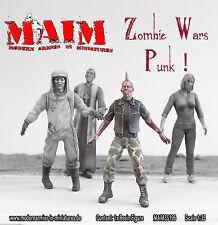 Zombie-Punk/1:35 Escala Kit de modelo de resina-Zombie wars