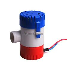 12v/24v bilge pump 1100GPH,electric water pump submersible boat water pump