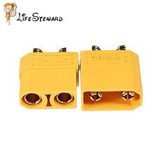 1 Pair Female Male XT90 Banana Bullet Connector Plug For RC LiPo Battery