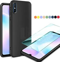 Custodia per XIAOMI REDMI 9AT / 9i Cover soft slim case TPU + Pellicola VETRO 9H
