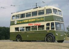PHOTO  TROLLEYBUS SUN F4 REG ARC 515 DERBY CORPORATION 215. DUDLEY. B.C. MUSEUM.