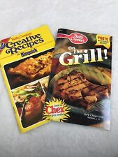 Betty Crocker's - On The Grill 1999 And Creative Recipes With Bisquick 1980