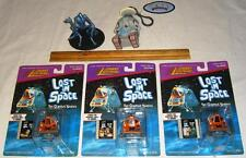 Lot of 3 Different Lost In Space Johnny Lightning Space Pod Toy with Film Clips