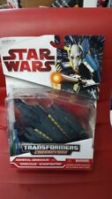 NEW STAR WARS TRANSFORMERS Crossovers GENERAL GRIEVOUS Starfighter BNIB Rare!