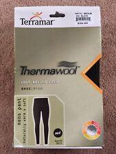 Terramar Men's Pants 100% Merino Wool Medium