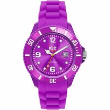 ICE Unisex Womens Mens Quartz  Watch Purple Strap Purple Face 000141