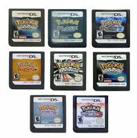 Nintendo Game Cartridge DS Card Pokemon Series SoulSilver Ranger Shadows Black