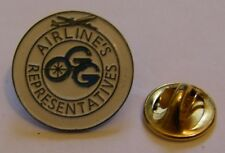 AIRLINES REPRESENTATIVES airlines aviation vintage pin badge