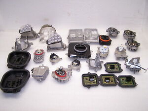 LOT OF OEM FACTORY LED LEAR SIGNALS CONTROL UNIT MODULES AUDI VOLVO BMW MERCEDES
