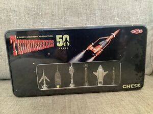 Thunderbirds - limited edition 50th Anniversary Chess Set- Mint In Sealed Box