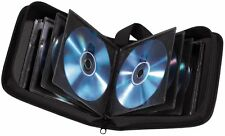 40 Space CD DVD Blu Ray Disc Carry Case Holder Bag Wallet Protector - BRAND NEW
