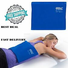 Large Cold Therapy Pad Reusable Gel Ice Pack Pain Relief Sport Back Compress New