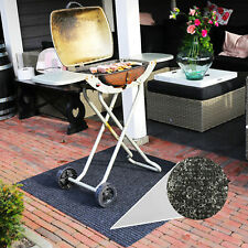 FIRE RETARDANT BBQ MAT DECKING BARBECUE PROTECTION 100X120CM FLOOR SPLATTER MAT