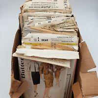 McCall's Butterick Advance Simplicity Vintage 1950s Patterns Lot of 29