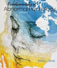Fundamentals of Abnormal Psychology 8th Edition by Ronald Comer ( ELECTRONIC )