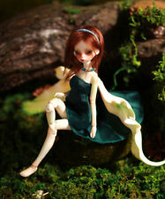 BJD Doll 1/8 Mini Little Girl IVY Unpainted Bare Doll without Any Make Up