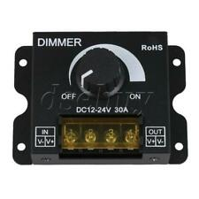 12V/24V DC 30A LED PWM Dimmer Controller Switch for Single Light with Cover