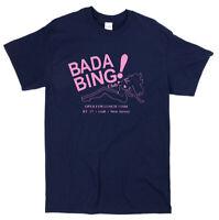 The Sopranos Inspired Bada Bing T-shirt - Classic Iconic TV Gangster Mafia