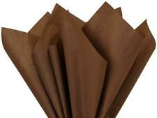 Chocolate Tissue Paper Squares, Bulk 10 Sheets, Premium Gift Wrap and Art Suppli