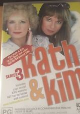Kath & Kim The Complete Series 3 Region 4 2 Disc Set DVD VGC