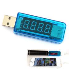 1x USB Chargeur Detector Détecteur Voltage Voltmètre Testeur Tension Courant NF