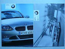 Prospekt - BMW Z4 Teile und Zubehör – Aerodynamik, 5.2003, 8 S. + Preisliste