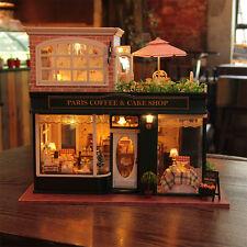 DIY Wooden Dollshouse Miniature Kit w/ Music-Dollhouse Hallstatt X'mas Gift