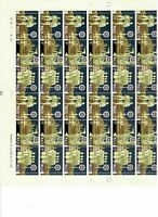 S33008) Malta 1969 MNH Christmas 3v Full Sheet