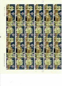 S33008) Malta 1969 MNH Christmas 3v Full Sheet