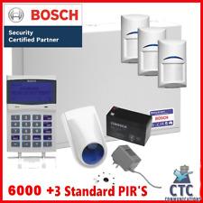 Bosch Solution 6000 Alarm System with 3 x Gen 2 Standard Detectors