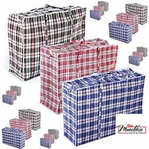 Jumbo XL Extra Strong and Durable Laundry Bags Shopping, Moving, Storage,Zipped