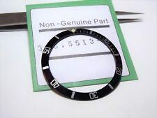 lunetta ghiera nera rolex submariner 5513 1680  explorer 16650 tdr 7928 watch
