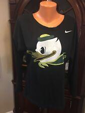 Nike University of Oregon long sleeve black shirt size M
