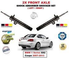 FOR BMW 1 Series E82 Coupe 2007-2013 2X FRONT LEFT RIGHT SHOCK ABSORBERS SET