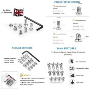 Smallrig 1/4 Screws For Dslr Camera Cage Or Additional Accessories (12 Pcs) - 17