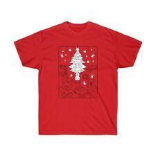 Unisex Ultra Cotton Tee Shirt with Christmas designs, select colors