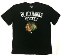 M - Men's - CHICAGO BLACKHAWKS - Collectible Fan T-Shirt - NHL Hockey - MAJESTIC