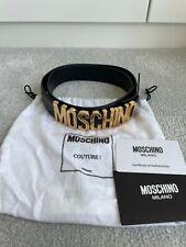 Genuine Moschino leather belt. Size 42